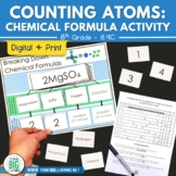 Counting Atoms: A Chemical Formula Activity