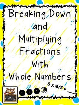 Breaking Down (Decomposing) and Multiplying Fractions (Using Repeated Addition)