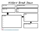 Breaking Down History Graphic Organizer