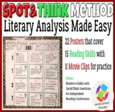 Literary Analysis Made Easy with Bulletin Board Posters an