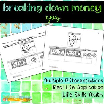 Breaking Down Money Quiz