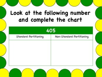 Breaking Down Numbers: Standard and Non-Standard Partitioning Task Cards