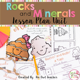 Rocks and Minerals Worksheets | Lesson Plans | Unit