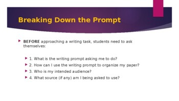 Breaking Down the Prompt