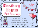 Breaking Hearts Math Fact Fluency