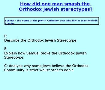 Breaking Jewish Stereotypes