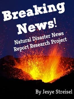 Breaking News! Natural Disaster News Report