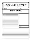 Breaking News Newspaper Template