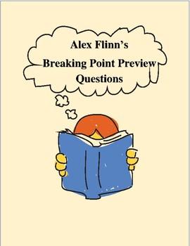 Breaking Point (Alex Flinn) Novel Preview Questions