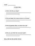Rules Writing Activity