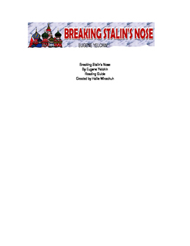 Breaking Stalin's Nose Reading Guide