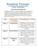 Breaking Through reading schedule (DOC)