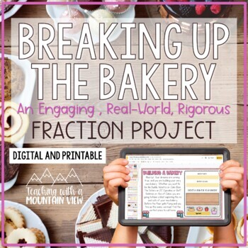 Fractions Project | Distance Learning | Google Classroom