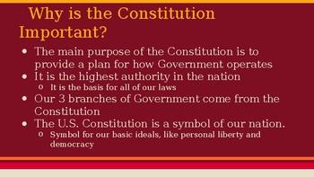 Breaking down the Preamble