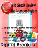Breaking out of the Number System: 6th grade Digital Google Form Breakout Review