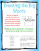 Breaking the Big Words: Syllable Division Activity Set 10 (V/CV - Magic E)