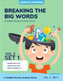 Breaking the Big Words: Syllable Division Activity Set 14