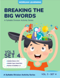 Breaking the Big Words: Syllable Division Activity Set 17