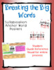 Breaking the Big Words: Syllable Division Activity Set 2