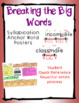 Breaking the Big Words: Syllable Division Activity Set 3