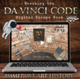 Breaking the Da Vinci Code-360° Escape: Middle/High School
