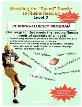 """Breaking the """"Sound"""" Barrier to Fluent Reading,Level 2,(BSB2) Teacher's Edition"""