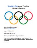 Breakout Box Summer Olympics 2016
