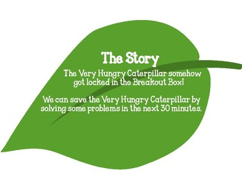 Breakout Box-The Very Hungry Caterpillar - Elementary Language Arts,Science,Math