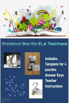 Breakout Box for ELA Teachers