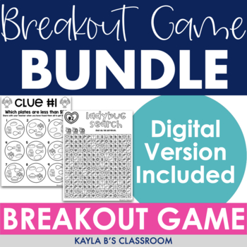 Breakout Bundle: Monthly Themed