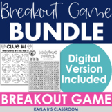 Breakout Bundle: Monthly Themed (Digital Breakouts Included)
