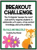 Breakout Challenge- Reading Literature (Folktales and Fables)