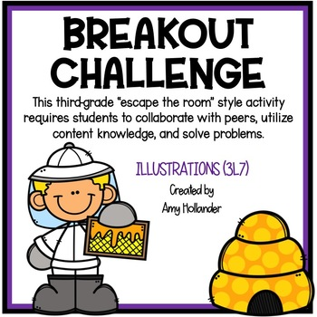 Breakout Challenge- Reading Literature (Illustrations)
