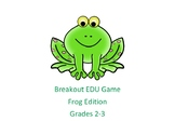 Breakout EDU Game for Grades 2 and 3 - Frog Edition