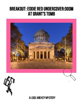 Breakout:Eddie Red Undercover Doom at Grant's Tomb Lock Box Activity Escape Game