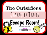 The Outsiders Characterization Escape Game!