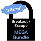Breakout / Escape Game MEGA-BUNDLE for Primary Grades - BtS, Holidays, & STEM