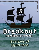 Breakout Escape Room Kidnapped by Pirates Algebra Systems