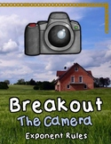 Breakout Escape Room The Camera Algebra Topic Monomials &