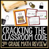 Cracking the Classroom Code™ 3rd Grade Math Review Game Escape Room