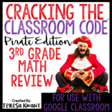 Cracking the Classroom Code™ 3rd Grade Math Review Game Escape Room
