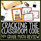 Escape Room Cracking the Classroom Code™ Grade 4 Math Review #50offdeal