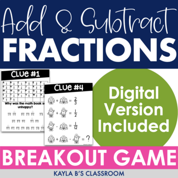 Breakout Game: Adding and Subtracting Fractions
