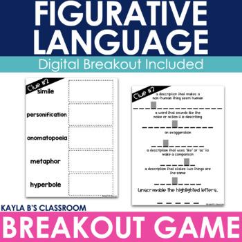 Breakout Game: Figurative Language