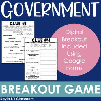 Breakout Game: Government