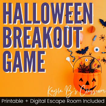 Breakout Game: Halloween