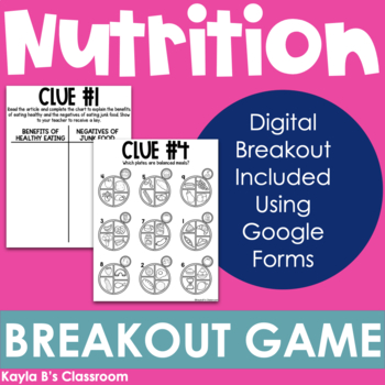 Breakout Game: Nutrition