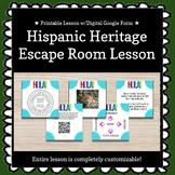Spanish Culture / Hispanic Heritage Month Escape Room/Brea