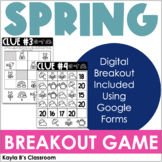 Breakout Game: Spring (Digital Breakout Included)