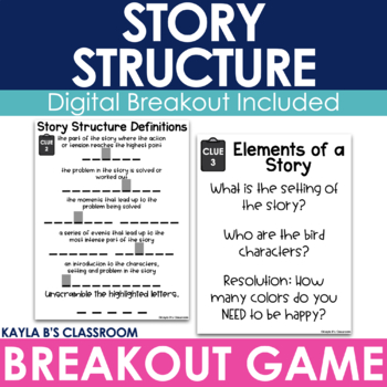 Breakout Game: Story Structure